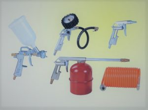 Air Compressor Gun Spray