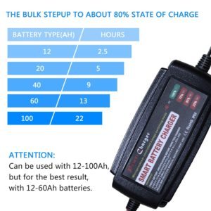 Bulk Charging with Best AGM Battery Charger