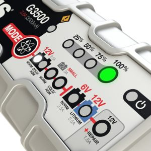 Fixing Best Automotive Battery charger size and voltage