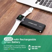 Magnetic Charger for Apple Watch, 2200mAh Wireless Phone Power Bank