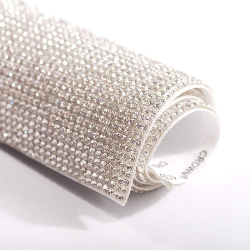 Self-Adhesive DIY Gems Bling Crystal Adhesive Rhinestone Sheets Car Cellphone Mobile Decoration Sticker