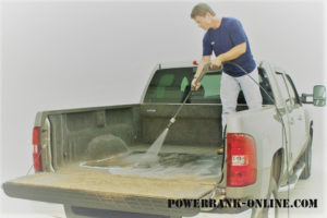 Washing Truck Bed