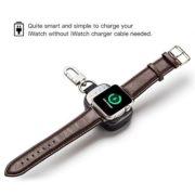 Wireless Charger Pocket size 700mah KeychainApple WatchPower Bank