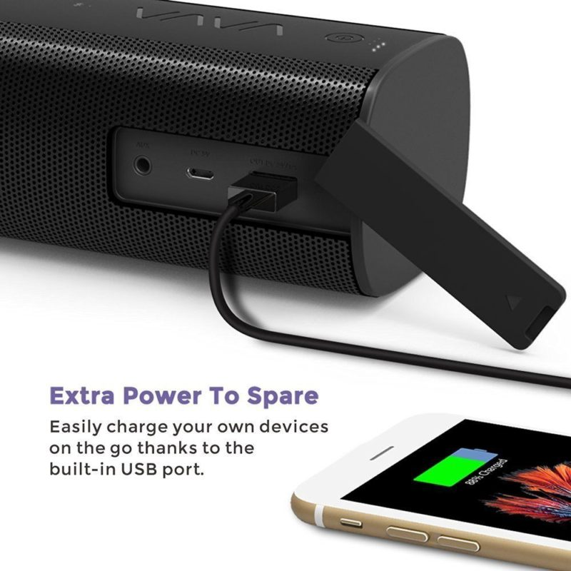Wireless SpeakersBluetooth Splash Proofportable 2 Passive Sub-woofers