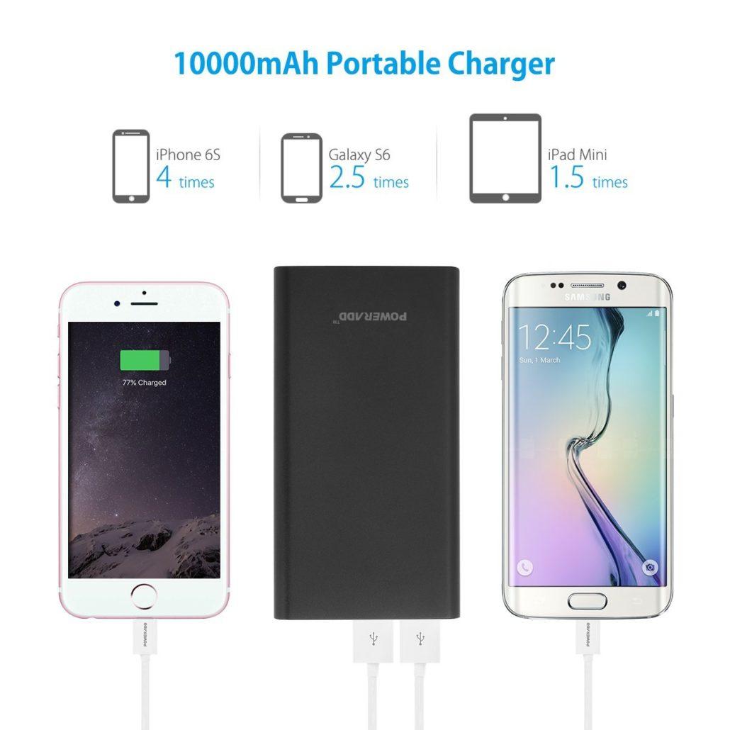 10000 mAh Portable charger