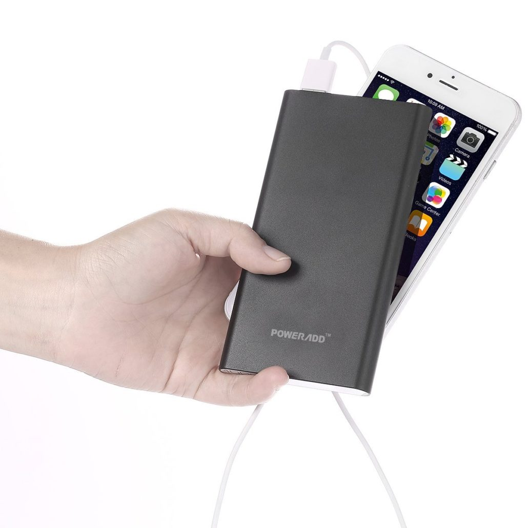 10000 mAh Power Bank Fully charge a Device