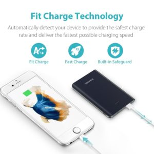 10000mAh Power Bank fully charge iPhone 7