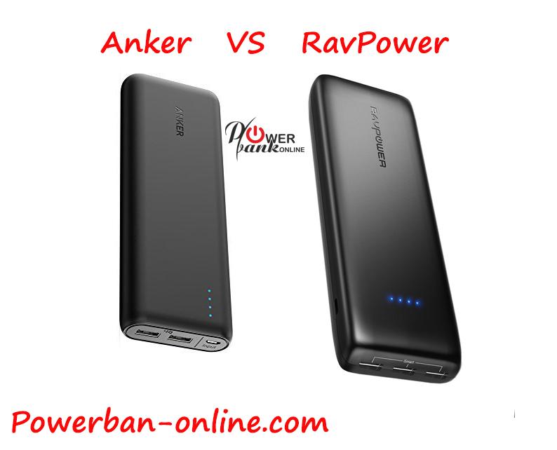 Anker vs RAVPower PowerBank
