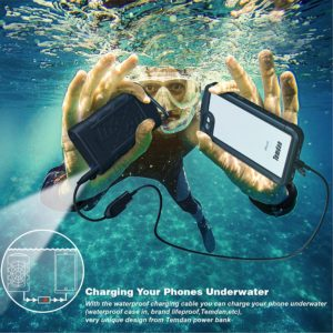 newest 465d2 a858b Best WATERPROOF Power Bank Portable Outdoor Charger Reviews 2018 ...