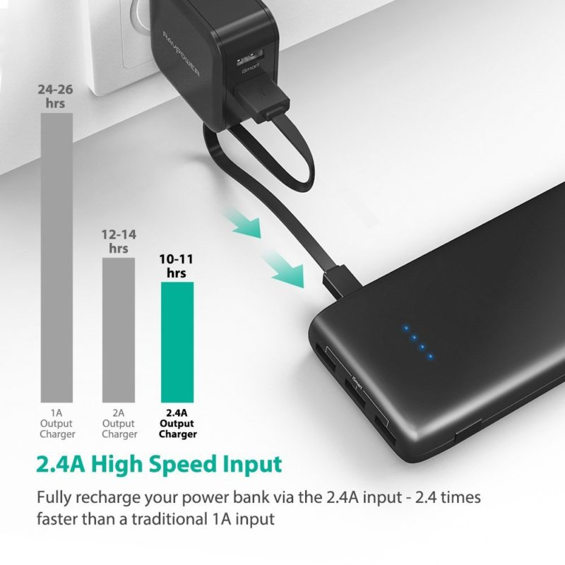 Cell Phone Power Bank Is Sufficiently Charged