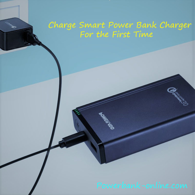 How long to charge POWER BANK for the first time