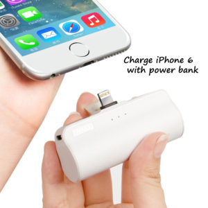 How many mAh to charge iPhone 6 & 6 Plus