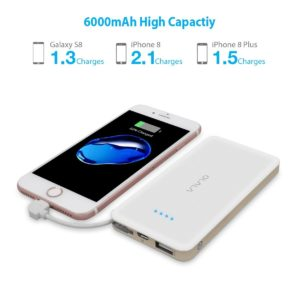 How many mAh to charge iPhone 6 - 6000mAh Power Bank