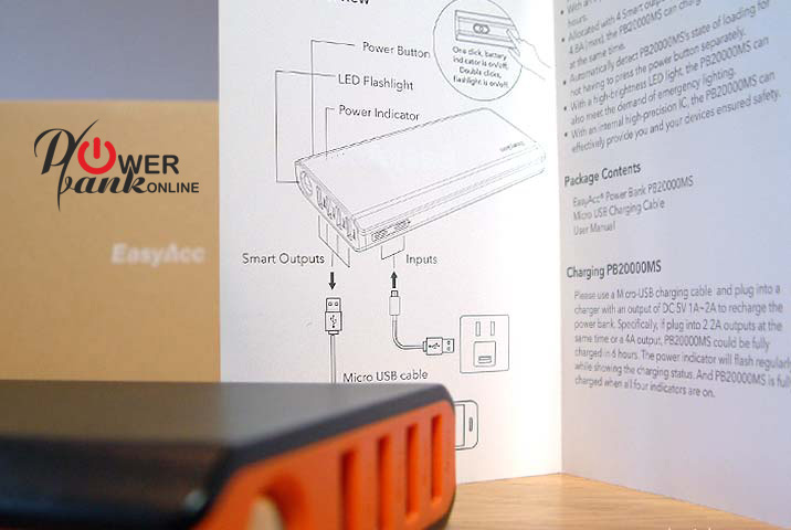 Power BAnk Manual and instructions