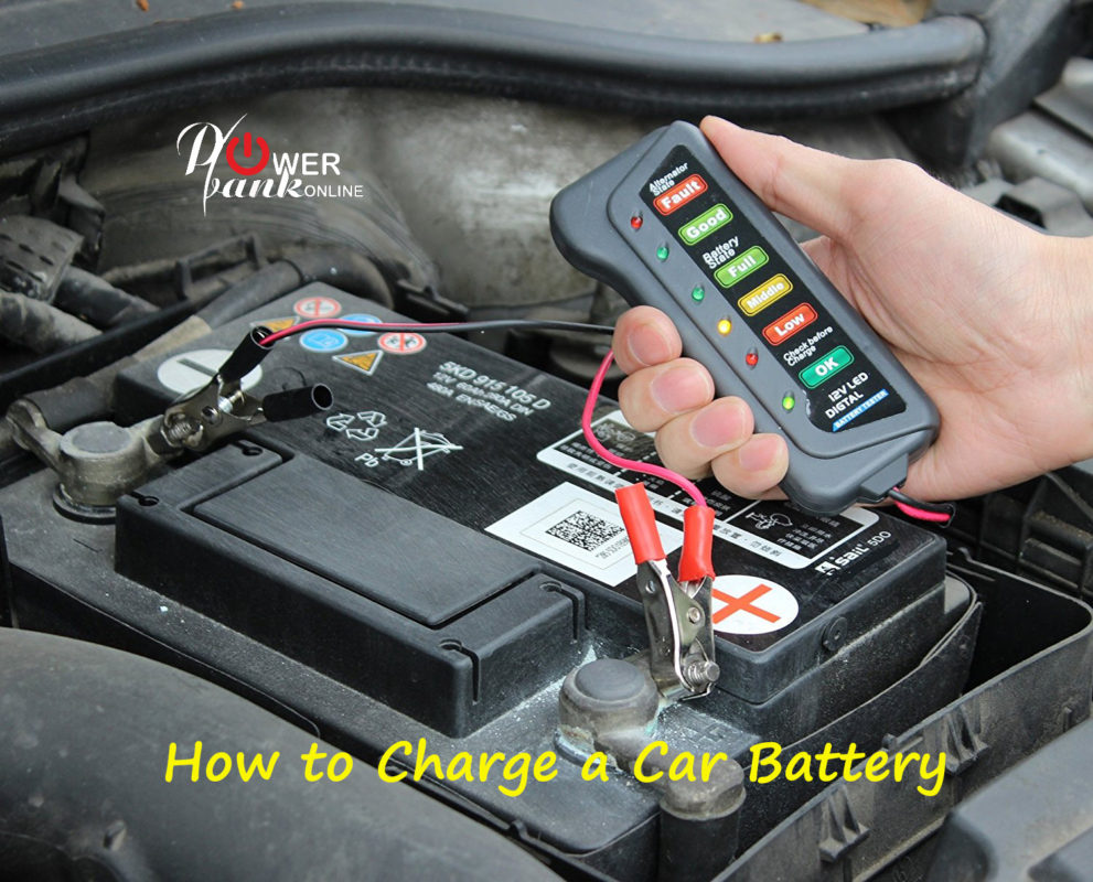 Intro - How to charge a car battery