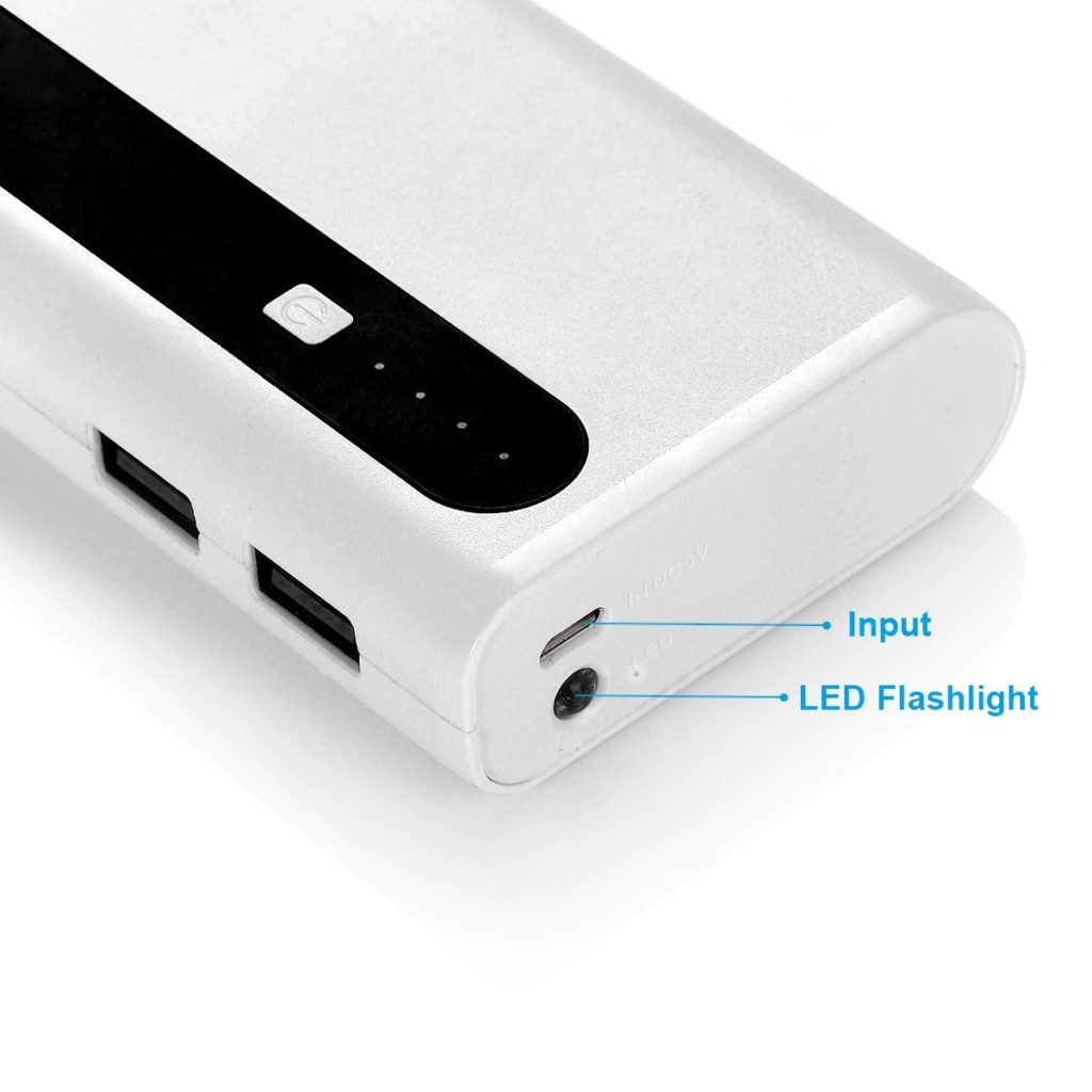 Power bank is charged when indicator is damage