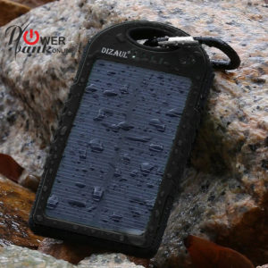 Solar-Charged PORTABLE Power Bank