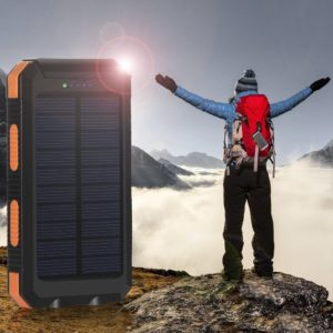 Solar-Charged Power Bank