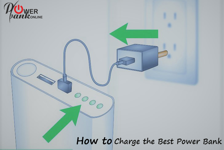 how to charge the power Banks
