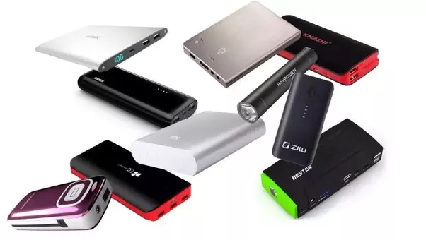 various kinds of POWER BANKS