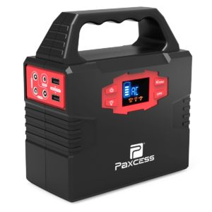 100-Watt Portable Generator Power Inverter, 40800mAh CPAP Battery Pack Home Camping Emergency Power Supply Charged