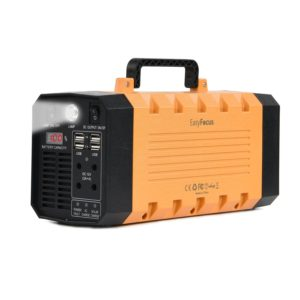 288WH Backup Portable Generator 12V 26000mah Lithium Battery Pack Solar Power Source 500W Power Inverter UPS Power Supply Charged