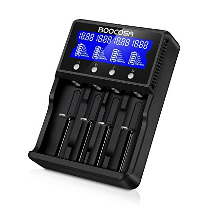 AA AAA 18650 Rechargeable Battery Charger