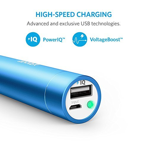 Anker PowerCore+ mini, 3350mAh Lipstick-Sized Portable Charger