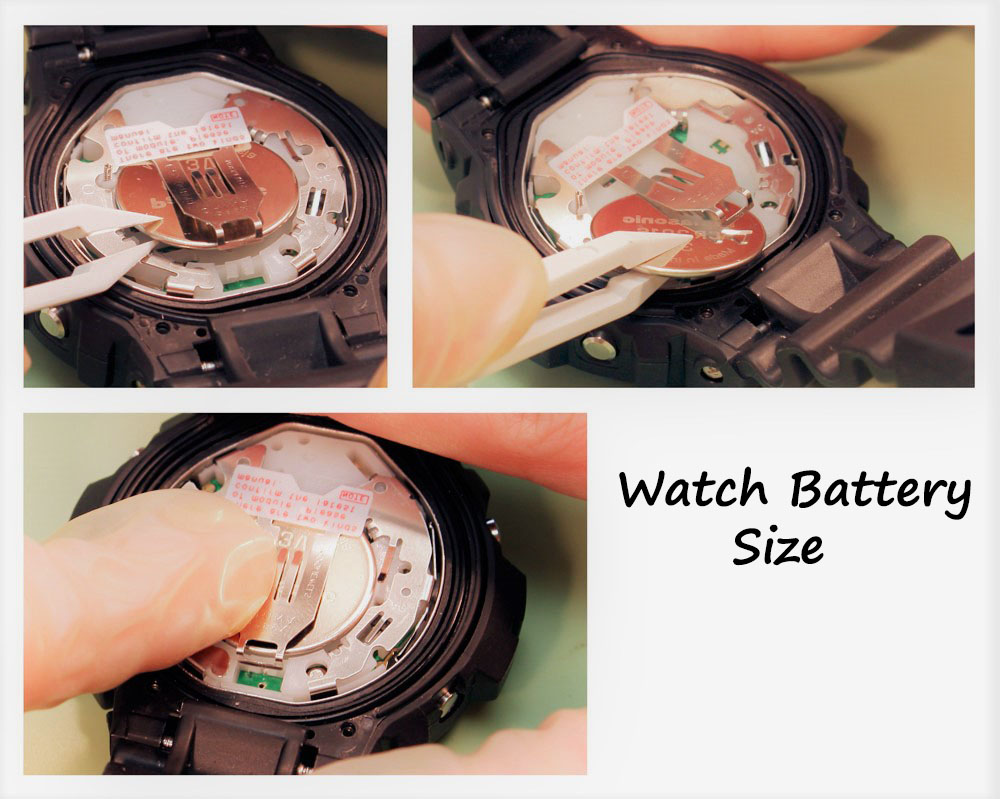 quartz watch how to change battery