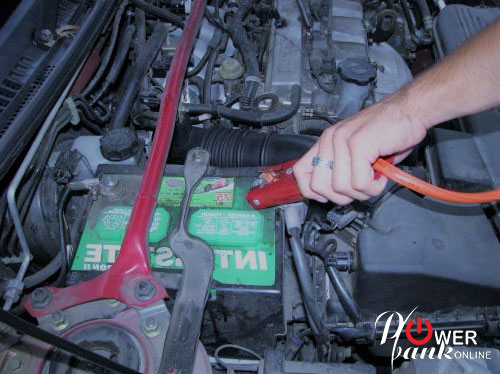 CAR JUMPER CABLE - How to jump start a car
