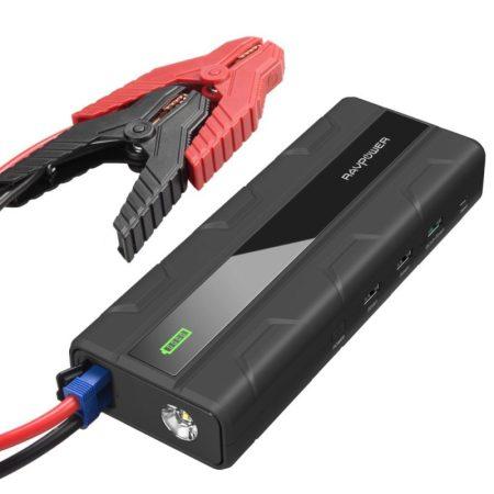 Car Jump Starter RAVPower 1000A Peak Current Quick Charge 3.0 12V