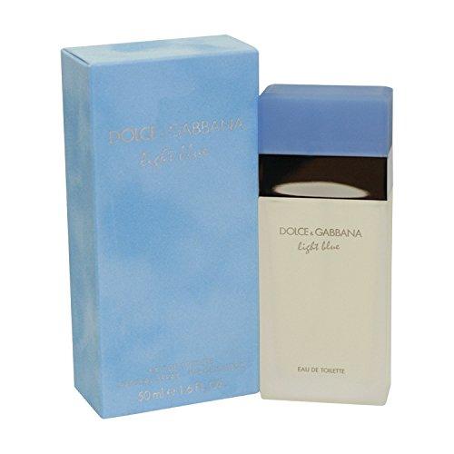 DOLCE & GABBANA LIGHT BLUE BY DOLCE & GABBANA FOR WOMEN. EAU DE TOILETTE SPRAY 1.6 OZ