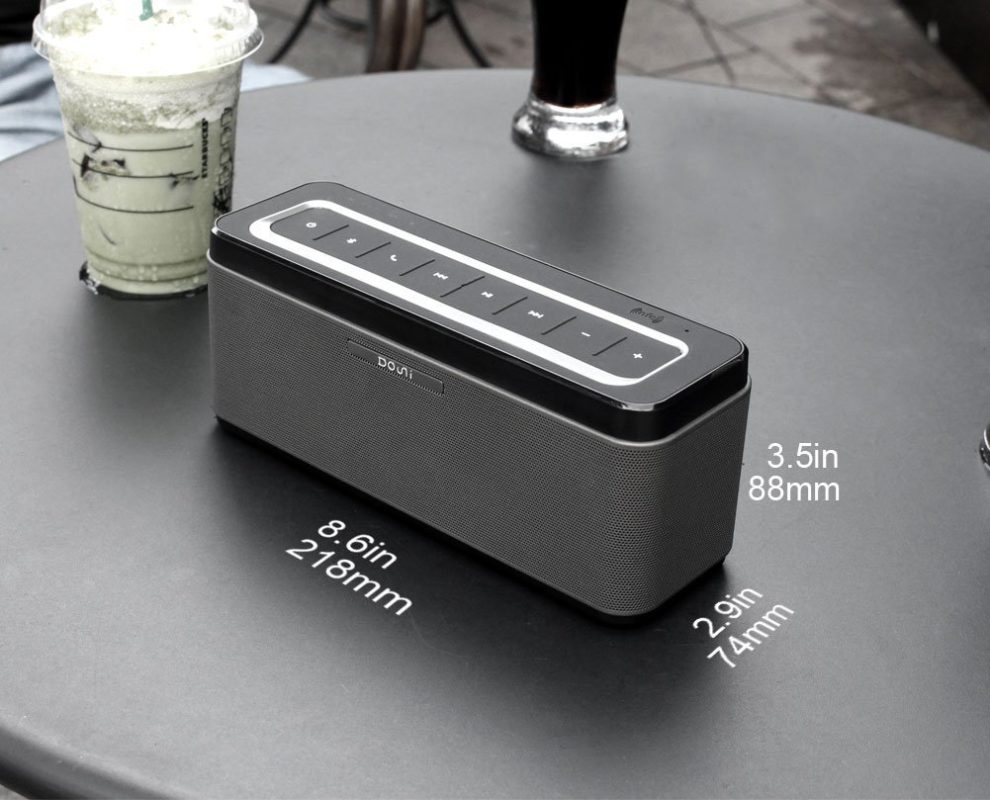 Douni 25W Portable Wireless Bluetooth Speaker (A5) with Power Adapter, Support Hands Free Call