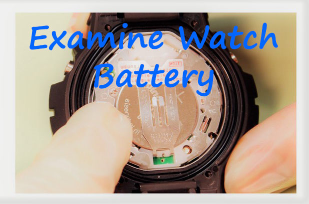 Examine Watch Battery - How to Replace a Watch Battery