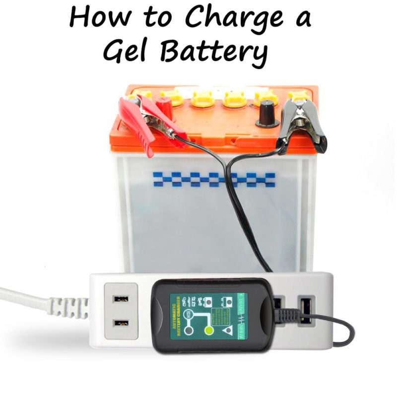 How to Charge a Gel Battery