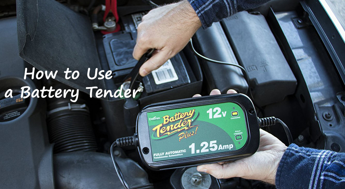 How to use a Battery Tender