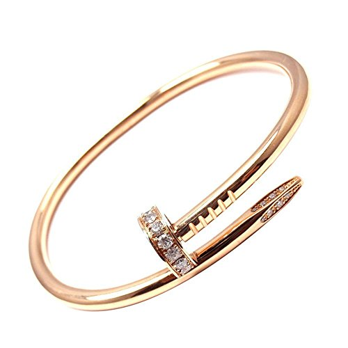 L H Jewelry Stainless Steel Nail Love Bangle Bracelet Gifts For 19 Years Old Birthday 20 Year Female