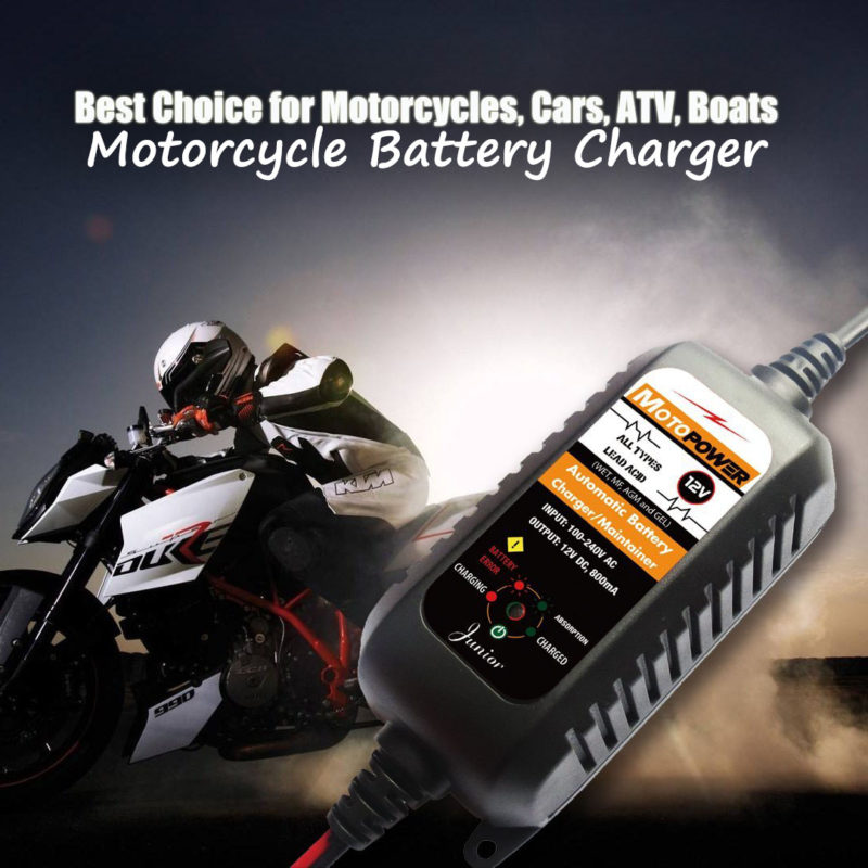 MOTORCYCLES BATTERY CHARGER