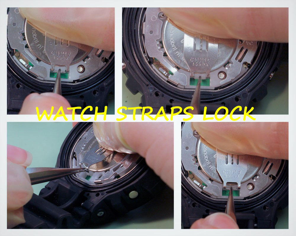 Strap Locks - How to Replace a Watch Battery