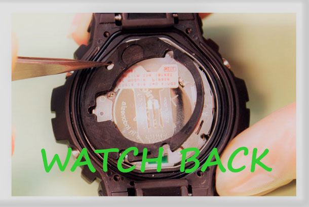 Watch back - How to Replace a Watch Battery