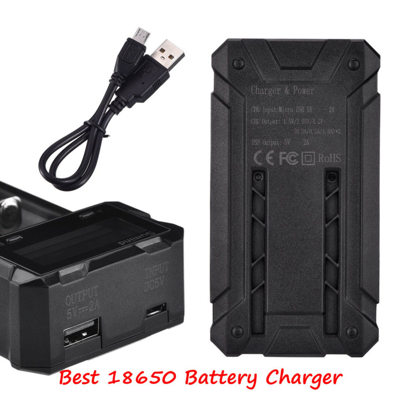 What Are Best 18650 Battery Chargers