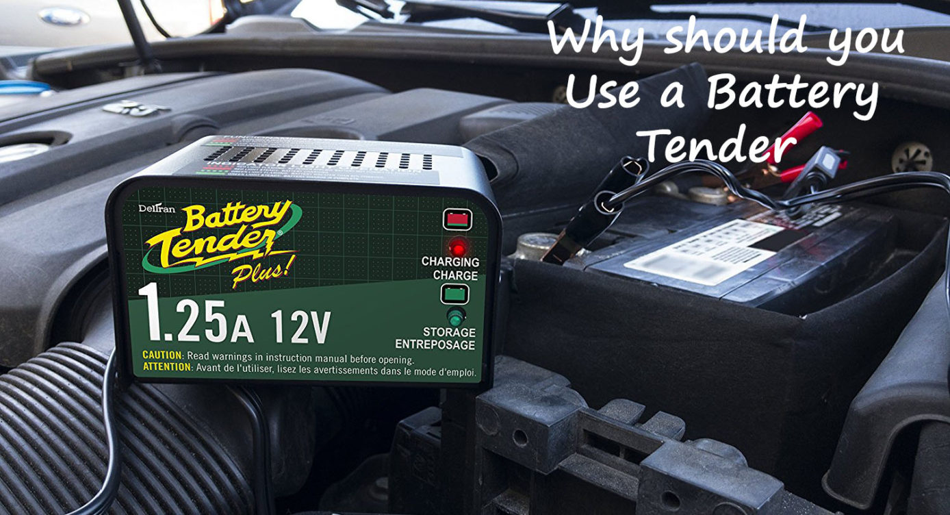 Why you should use a battery tender