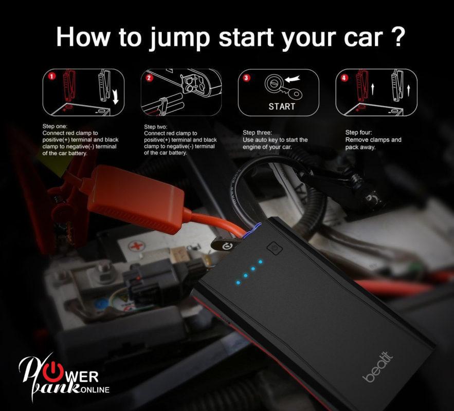 How Long Does Car Battery Last >> How to Jump Start A Car Battery | Car Battery Jump Starter Guide and Tips 2018/2020 USA