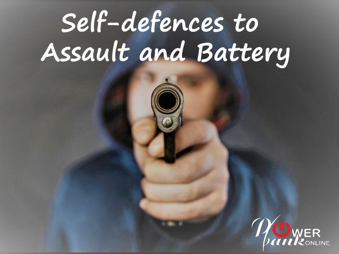 self-defenses to assault and battery