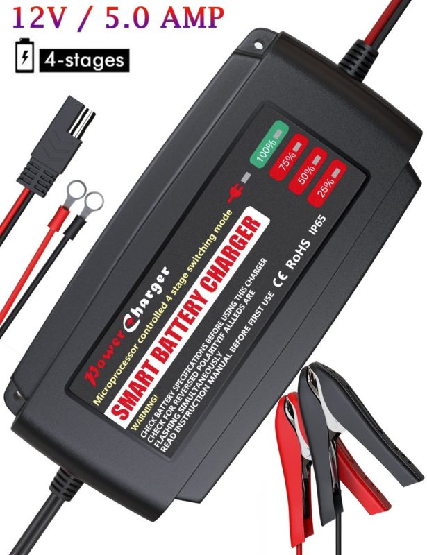 10 Best 3 Stage Battery Charger Reviews 2018/2020 USA