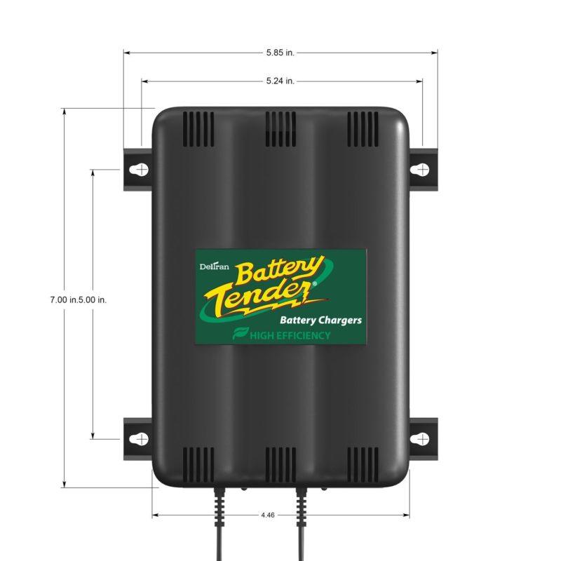 battery tender 022 0165 dl wh 12 volt 2 bank battery. Black Bedroom Furniture Sets. Home Design Ideas