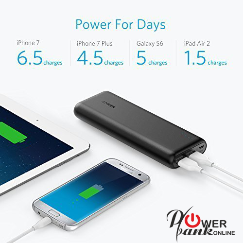 How long to charge a Power Bank 20000 mAh to full Capacity