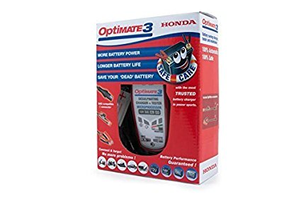 Pro Honda Optimate3+ Automatic 5 Stage Battery Charger