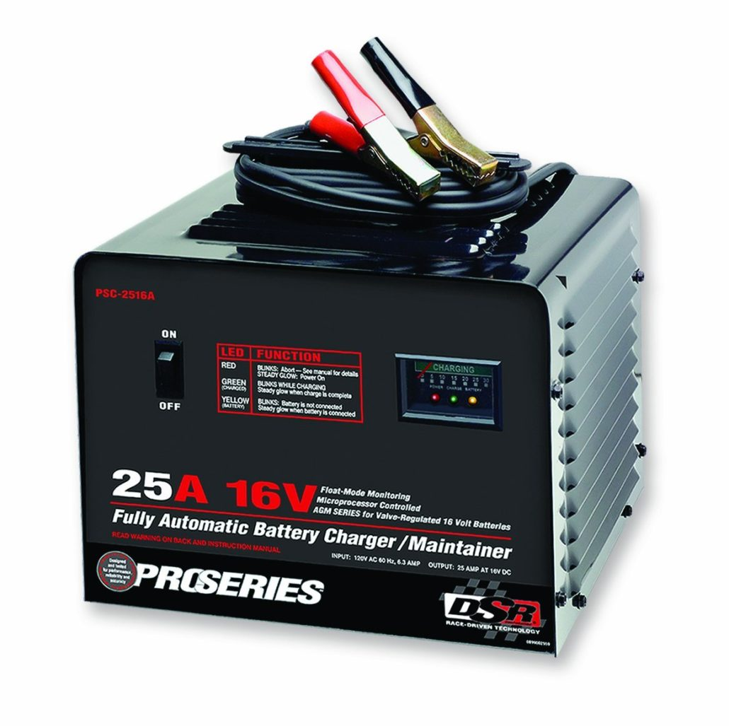 Schumacher PSC-2516A DSR ProSeries 25 Amp 16 Volt Automatic Specialty Battery Charger Maintainer
