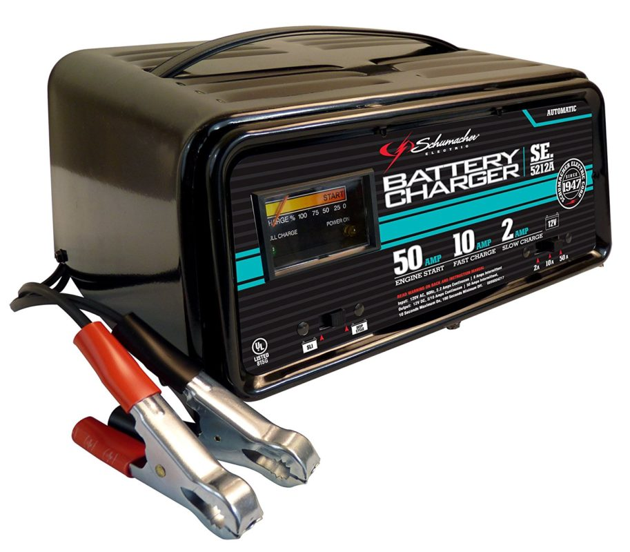 Schumacher SE-5212A 2-10-50 Amp Automatic Handheld Battery Charger